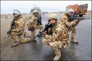 England army