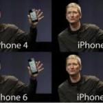 iPhone6は5sよりも巨大化? 時代の流れですかね?