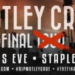 Motley Crue(モトリー・クルー)2015年12月31日活動休止 もう4人揃ってのライブは見られない